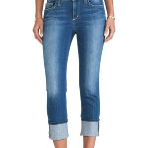 Joe's Jeans Odette Cropped Cuffed